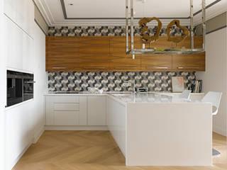 Квартира на ул.Балтийской / Москва: Кухни в . Автор – Бюро TS Design,