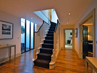 Orchard End Modern corridor, hallway & stairs by Zodiac Design Modern