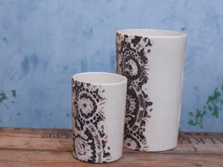 Vases cylindres:  de style  par Créations Bohème