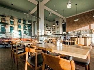The New Club - Restaurant - Brighton de Engaging Interiors Limited Ecléctico