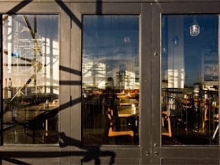 The New Club - Restaurant - Brighton de Engaging Interiors Limited Moderno