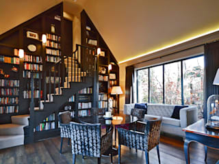 The Harry Potter staircase :  Study/office by Zodiac Design