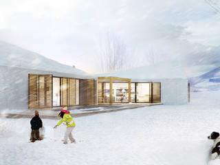 Dom G z widokiem na 26 szczytów Nowoczesne domy od STOPROCENT Architekci Nowoczesny