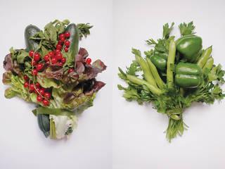 DIVERS - boeketten om op te eten:   door Studio Janina Loeve