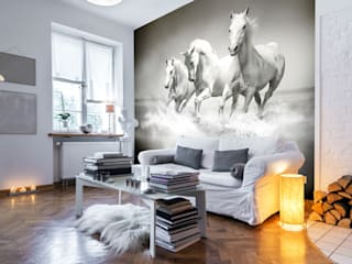Beautiful Equestrian Wall Murals 根據 Wallsauce.com 鄉村風