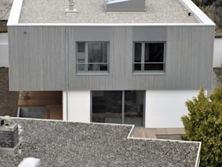 Wohnhaus, Riemerling Moderne Häuser von Löffler Weber | Architekten Modern