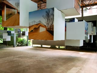 Выставочные центры в стиле минимализм от Designlab Минимализм