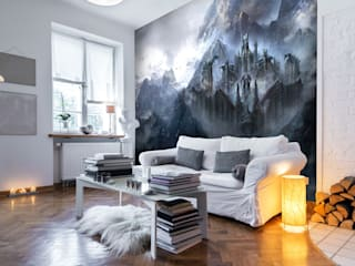 Science Fiction and Fantasy Murals 根據 Wallsauce.com 現代風