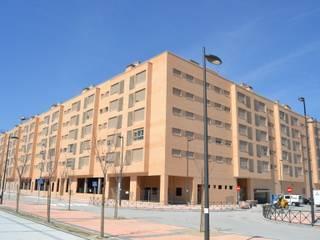 Vista exterior: Casas de estilo  de ALIA, Arquitectura, Energía y Medio Ambiente