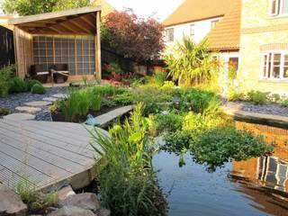 庭院 by Katherine Roper Landscape & Garden Design