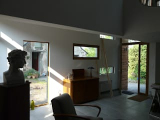 DENT CREUSE rdb architectes Salon moderne