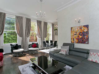 Courtfield Road, Kensington, London, SW7 by Temza design and build Modern