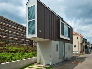 River side house / House in Horinouchi 모던스타일 주택 by 水石浩太建築設計室/ MIZUISHI Architect Atelier 모던