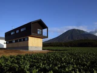 Casas estilo moderno: ideas, arquitectura e imágenes de 株式会社 遠藤建築アトリエ Moderno