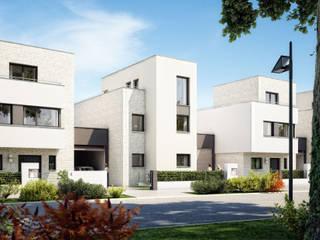 Kettenhäuser Jazz: moderne Häuser von Planquadrat   Elfers Geskes Krämer