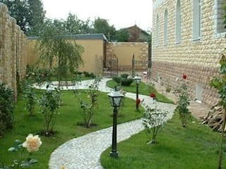 Ünal Peyzaj Ltd.Şti. Jardines de estilo moderno
