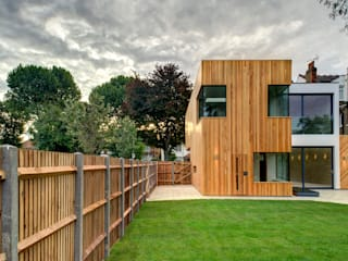 Tetris, Park Road Modern houses by MZO TARR Architects Modern