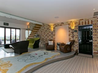 The Highway, Wapping, London, E1W Modern Koridor, Hol & Merdivenler Temza design and build Modern