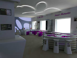 Lounge bar Sweet Moments:  in stile  di Dadesign Interior Designer