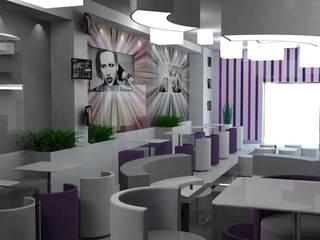 Lounge bar Marylin Bar & Club moderni di Dadesign Interior Designer Moderno