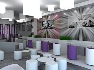Lounge bar Marylin: Bar & Club in stile  di Dadesign Interior Designer