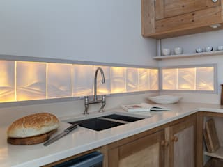 Rising Tide - Translucent kitchen splashback:   by Flux Surface