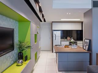 ห้องทานข้าว โดย BEP Arquitetos Associados, โมเดิร์น