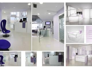 proyecto para clinicas s&o:  de estilo  de elementos interiorismo y diseño