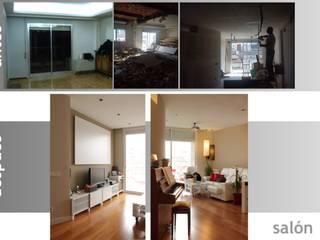 proyecto y obra de reforma en vivienda:  de estilo  de elementos interiorismo y diseño