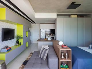 ห้องนั่งเล่น โดย BEP Arquitetos Associados, โมเดิร์น