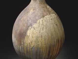 Erde und Feuer von Anagama-Keramik Asiatisch