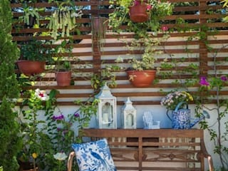 Eclectic style garden by Blacher Arquitetura Eclectic