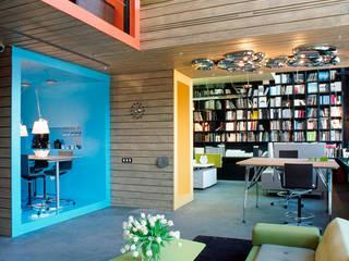 DK Офисные помещения в стиле модерн от Megabudka Модерн