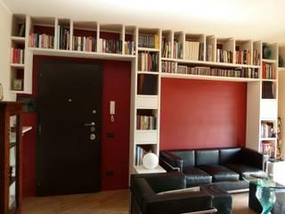 Appartamento privato a Parco di Tor Tre Teste, Roma Soggiorno moderno di studio di architettura Giorgio Rossetti Moderno