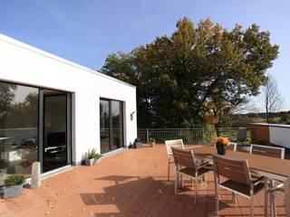 Generationenübergreifendes Wohnen  im 10-Familienhaus:  Terrasse von JA3