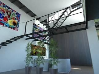 โดย gk architetti (Carlo Andrea Gorelli+Keiko Kondo) มินิมัล