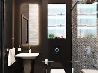 Modern bathroom by Студия дизайна Interior Design IDEAS Modern
