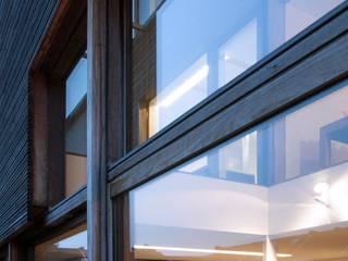 maison T&A, Gent: Maisons de style  par bruno vanbesien architects