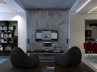 Minimalist living room by DA-Design Minimalist