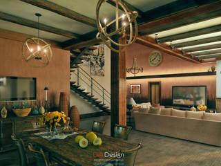 Colonian style Спальня в колониальном стиле от DA-Design Колониальный
