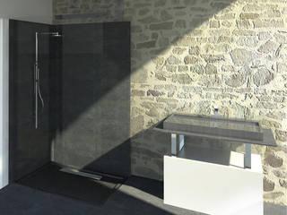 Réhabilitation - Salle de bain - La Roche-sur-Yon: Salle de bains de style  par SL20 ARCHITECTURE