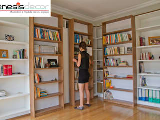 Study/office by GenesisDecor, Modern