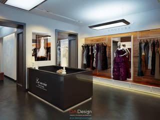 La Novia Couture (project) Офисы и магазины в эклектичном стиле от DA-Design Эклектичный