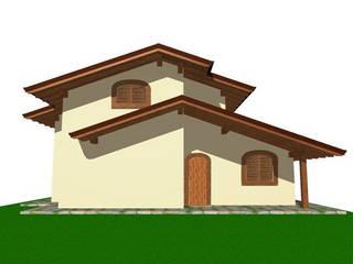 Edificio residenziale unifamiliare: Case in stile In stile Country di Calcoli Strutturali Online