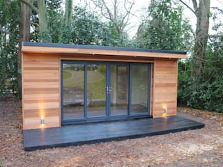 'The Crusoe Classic' - 6m x 4m Garden Room / Home Office / Studio / Summer House / Log Cabin / Chalet 根據 Crusoe Garden Rooms Limited 現代風