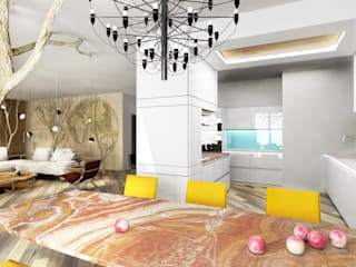 Eclectic style kitchen by Architeta Eclectic