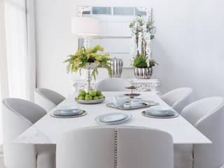 Sala de Jantar Marble por Green Apple Home Style Eclético