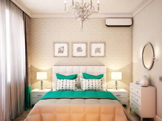 Dormitorios eclécticos de Marina Sarkisyan Ecléctico