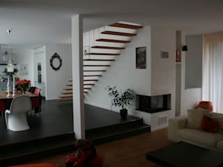 böser architektur Modern living room