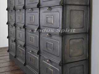 Restauration meuble à clapet Strafor 1930 par Indus Spirit Industriel